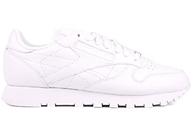 a652287c1 Reebok Classic Leather Running Shoes - White (Men)
