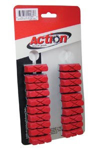Buy Low Price BRAKE SHOE ROAD ACTION X-CUT RED CARD OF 10 PAIR (460/3438)