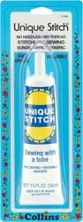 Dritz Unique Stitch Adhesive 1.25 Ounce C7902; 3 Items/Order