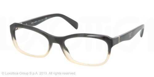 pradaPrada PR21OV Eyeglasses-JAG/1O1 Dark Green Grad Cammeo-53mm