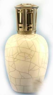 Home Fragrances Scentier Ivory Crackle Fragrance Lampe S412