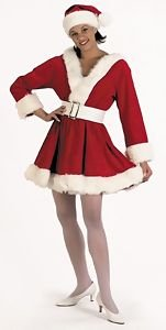 Perky Pixie Claus Christmas Costume