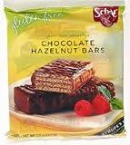 Schar Chocolate Hazlenut Bars Gluten-Free 3.7 oz.