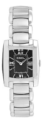 Ebel Women's 9976M22/54500 Brasilia Black Roman Numeral Dial Watch
