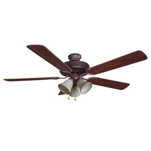 Yosemite Home Decor 52 Inch Ceiling Fan - Oil Rubbed Bronze Finish - CALDER-ORB-3