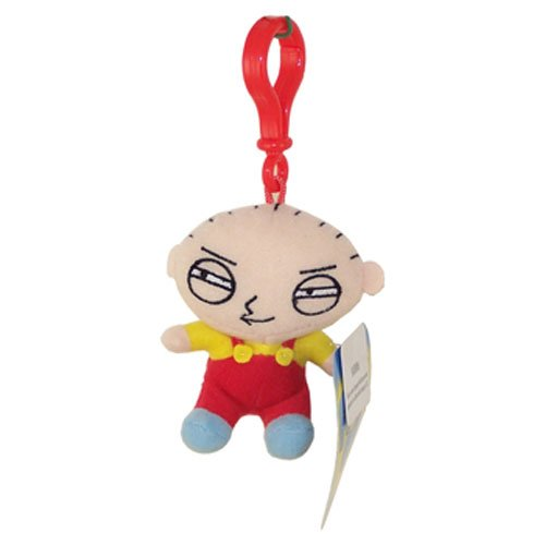 Family Guy Plush Back Pack Clip On Stewie - 1