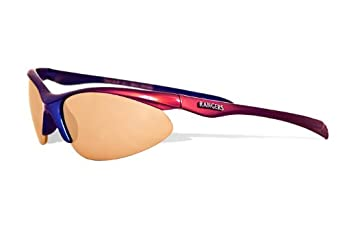 MLB Texas Rangers Rookie Sunglasses with Bag, Red and Blue, Child by Maxx