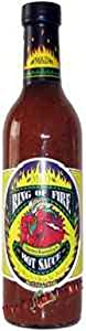 Hot Sauce Depot 60181015 Ring of Fire Chipotle & Roasted Garlic Hot Sauce, 12.5oz - Pack of 3 from Hot Sauce Depot