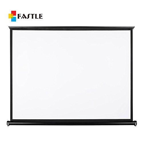 Fastle tabletop micro portable presenter projector screen for Micro projector screen
