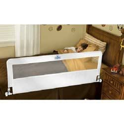 Regalo hideaway extra long portable bed rail for Regalo mobile tv