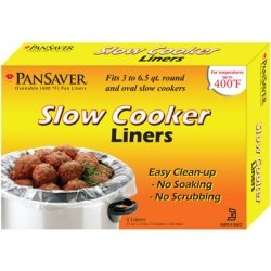 M&Q PACKAGING CORP.-PANSAVER, Slow Cooker Liners 18 / 4 ct. packs, Manufacturer Part Number: 42645