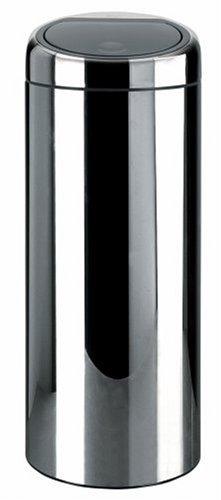 Brabantia Touch Bin, 30 Litre, Brilliant Steel
