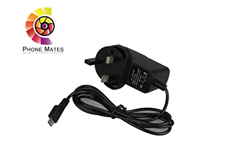 Nice BlackBerry Porsche Design P'9983 charger, Fast Rapid Mains Wall Charger 2.1 A (5V) output 1.2 meter (4ft) long charger for BlackBerry Porsche Design P'9983 charger CE Certified with 12 Months Warranty.