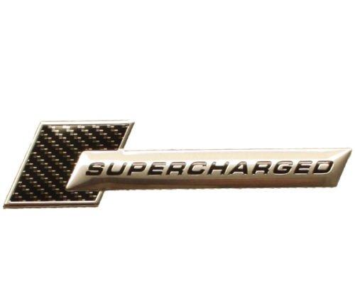 3D-en-mtal-chrom-sUPERCHARGED-turbo-carbon-autocollant-tuning-emblme-logo-tS-102