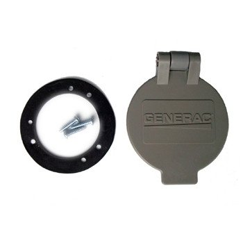 31dGR7J daL Generac 6393 Flip Lid Accessory for Power Inlet Box Models 6342/6343/6344/6336/6337 and 6338