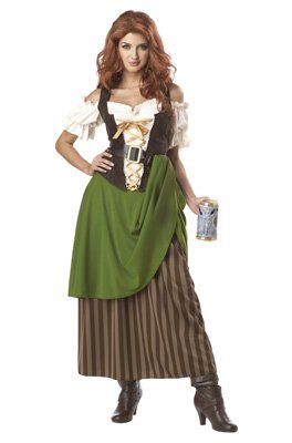 Tavern Maiden Costume - Medium - Dress Size 8-10