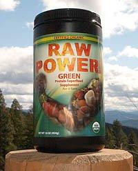 Raw Power! Protein Superfood, Green (16 oz, raw, certified organic)