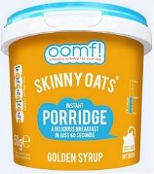 Oomf Skinny Porridge Golden Syup 50 g x 1