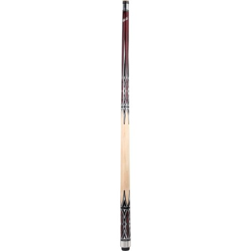 Cuetec Super Slim Taper Billiard Cue With Brown Points Maple Wood Grip, Brown