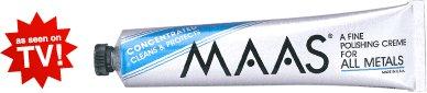 Maas Metal Polish 4 oz