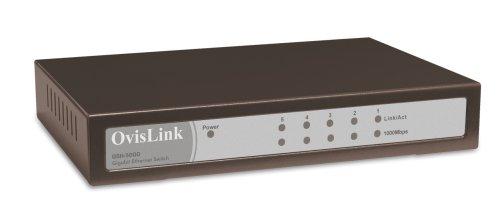 Ovislink GSH-5000 Switch 5 ports 10/100/1000 T