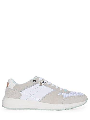 Wrangler foot wear Sneaker da donna in acciaio inox, Bianco (bianco), 41