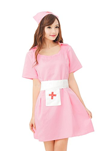 Sexy Nurse Uniform Costume Dress Adults Outfit Apparel