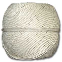 White Polished 20# Hemp Twine 100g Ball