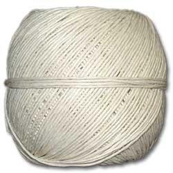 White Polished 20# Hemp Twine 100g Ball