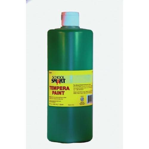 Amazon.com: School Smart Tempera Paint - Quart - Green