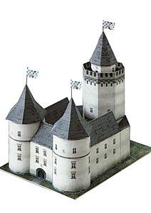 aue-verlag-19-x-14-x-19-cm-Burg-Blankenstein-Hattingen-Modell-Kit