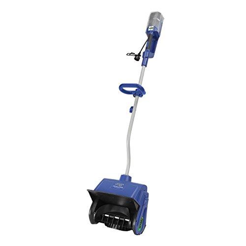Snow Joe iON13SS-HYB 40V 4.0 Ah Hybrid Battery or Electric Cordless Snow Shovel, 13