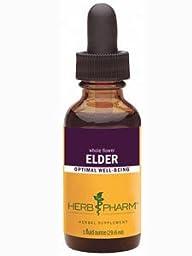 Herb Pharm Certified Organic Elder Extract - 1 Ounce