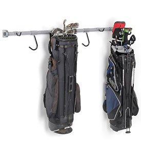 monkey bars golf rack in gray wall racks