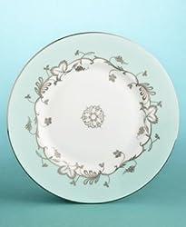 "Wedgwood Martha Stewart ""Flourish Robin's Egg 9"" Accent Plate"