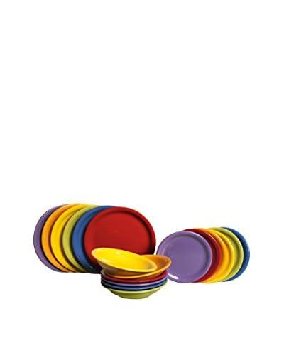 Colorlife gerechten 18 stuks . Set Fashion Multicolor