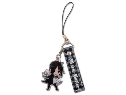 Black Butler: Sebastian SD Cell Phone Charm - 1