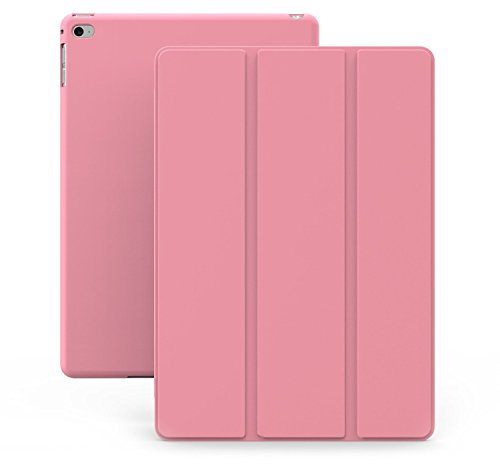 KHOMO iPad Mini 4 Case (Released September 2015) - DUAL Pink Super Slim Cover with Rubberized back and Smart Feature (sleep / wake feature) For Apple iPad Mini 4th Generation Tablet (Ipad Mini Back Cover Pink compare prices)