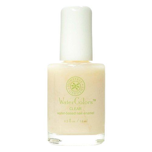 Honeybee Gardens Nail Enamel Clear Water Base 0 5 Fluid Ounce Health Beauty Personal Care Foot