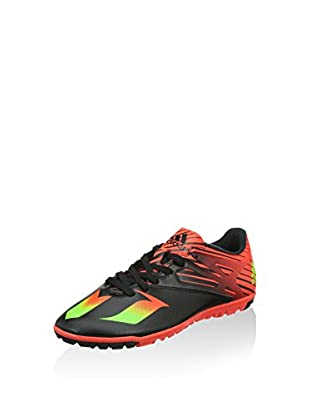 adidas Zapatillas de fútbol Messi 15 3 Tf (Negro / Verde / Rojo)