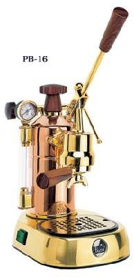 La Pavoni Model PB-16, Copper /Brass Item # PB-16