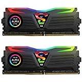 GeIL SUPER LUCE RGB SYNC AMD Edition 16GB (2 x 8GB) 288-Pin SDRAM DDR4 3000 (PC4 24000) Desktop Memory Model GALS416GB3000C16ADC (Tamaño: 16 Gb)