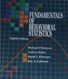 Fundamentals of Behavioral Statistics (0070549850) by Audrey Haber