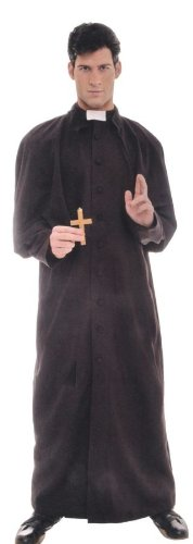 Priest Adult Deluxe Costume