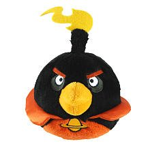Angry Birds Space 5-Inch Black Bird with Sound - 1