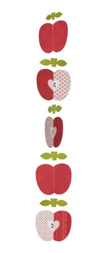 Petit Collage Strand Mobile, Apples In A Row front-578727