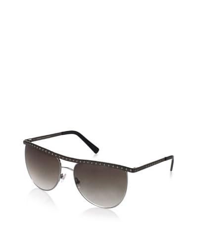 Balmain Women's BL2000 Sunglasses, Black/Silver