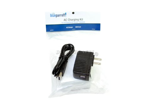 Blue Parrot 203150 Xpress Ac Charging Kit - Retail Packaging - Black