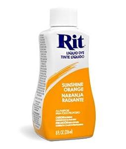 Rit Dye - Sunshine Orange # 43 Liquid