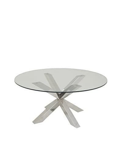 Three Hands Stainless Steel Coffee Table